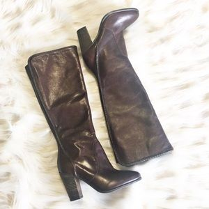 Vince Camuto Shoes - Vince Camuto High boots brown NWOT